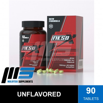 Mesotropin Meso X, 90 Tablets (FREE MESO SHAKER) - MesoX, Testosterone Booster, Post Workout, Amino Acids, Glutamine, BCAAs, Instant Muscle Recovery